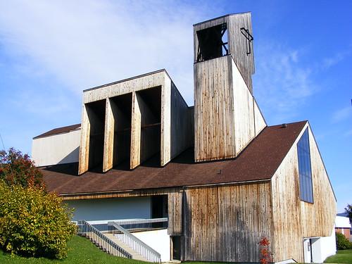 cathédrale du Christ-Roi de Gaspé