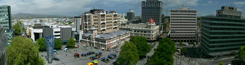 Panorama from the Christ Church Cathedral