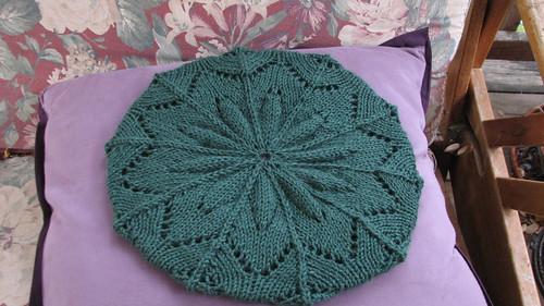 Free Knitting Patterns Lace Beret : Grace Lace Beret Free Knitting Pattern Filmvz Portal