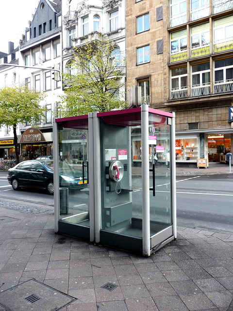Phone booth in Aachen
