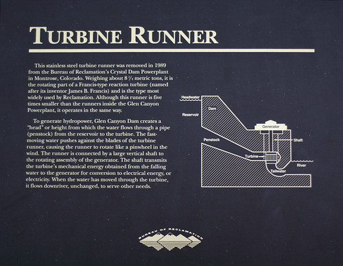 Glen Canyon Turbine Information