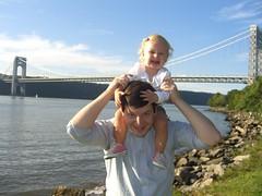 GW bridge and the fam (Christopher Gibbons) Tags: newyorkcity chris lily georgewashingtonbridge