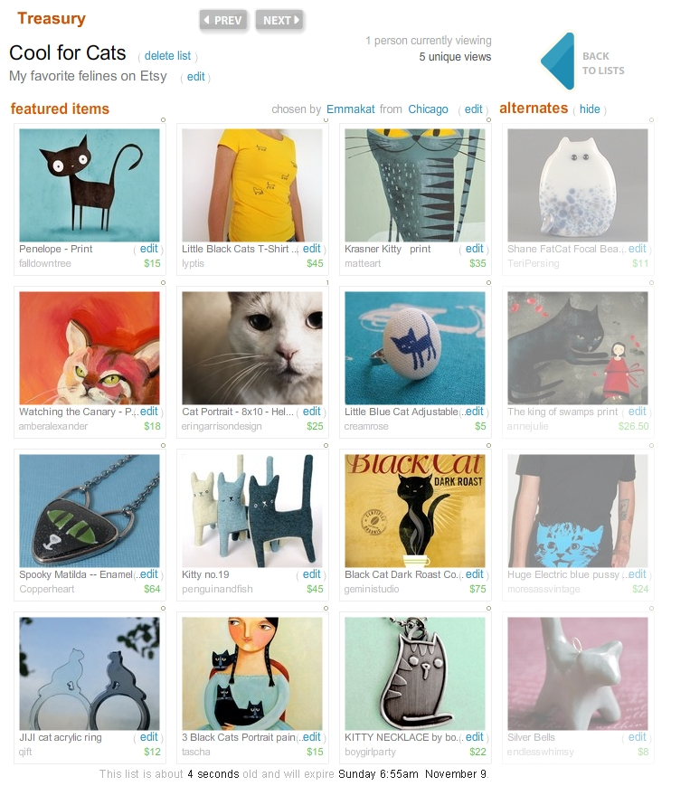 Cat Treasury