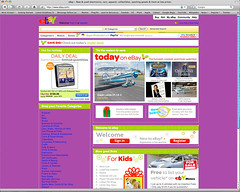 Ebay with its underwear showing (cartoongoddess) Tags: color ebay background webdesign oops bg errors