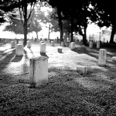 Murfreesboro (Peter Gutierrez) Tags: bw usa white black film cemetery grave america river square soldier army us photo war tn stones tennessee south united union tomb tombstone graves confederate southern peter civil national american gravestone soldiers gutierrez states battlefield tombstones federal gravestones tombs confederacy rutherford murfreesboro petergutierrez tennesseean