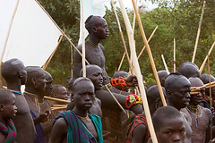 114 - One of the winners of the donga stick fighting (Johan Gerrits) Tags: africa travel african tribal valley lower ethiopia tribe ethnic surma indigenous ethiopian omo donga suri