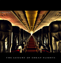The Luxury of Cheap flights (Sayid Budhi) Tags: cabin nikon airbus tt luxury hdr kopdar a320 airasia cheapflights nikond80 passengercabin lowcostcarry leatherseating