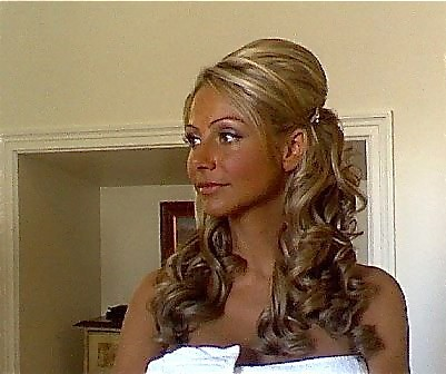 lovely long locks, long wedding hair