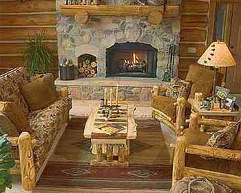 Log New Living Room Furniture,Living Room Painting,