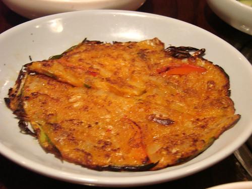 Free Kimchee Pancake