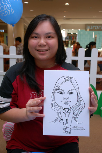 caricature live sketching for West Coast Plaza day 2 - 39