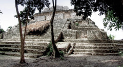 Chochaben Temple (Butch Osborne) Tags: travel mexico ancient ruins maya culture mayan mayanruins historical traveling antiquity mustsee mayanculture yuccatan westerncarribeancruise2006 mayancity bucketlist
