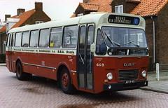 BBA museumstadsbus 603 Tilburg (Arthur-A) Tags: bus netherlands buses nederland autobus tilburg brabant bba noordbrabant daf zabo bussen