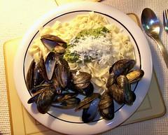 Pasta & Mussels