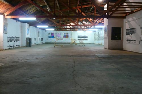 Kunstverein Familie Montez. Halle im ersten Stock. September 2007