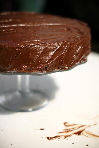 Šokolaadikook õuna-ingveri-kardemonimoosiga