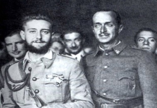 Jaime Milans del Bosch e hijo tras el asedio