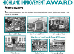 Highland Improvement Awards
