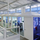 'Tent' Conference Rooms in Google Office - America