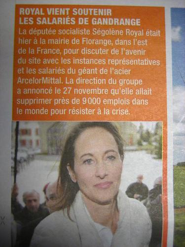 Direct Matin du 5 décembre - Ségolène Royale député ?
