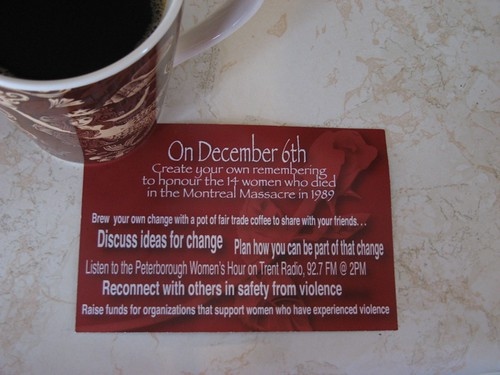 December 6 - What You Can Do to Work for An End to Violence Against Women