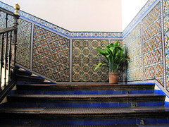 Sevilla (Graa Vargas) Tags: espaa canon sevilla spain stair ph227 realesalczares graavargas 2008graavargasallrightsreserved 3304150109