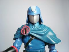 máscara metálica del Comandante Cobra