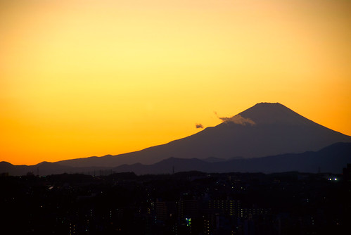 Fuji from the Office 02