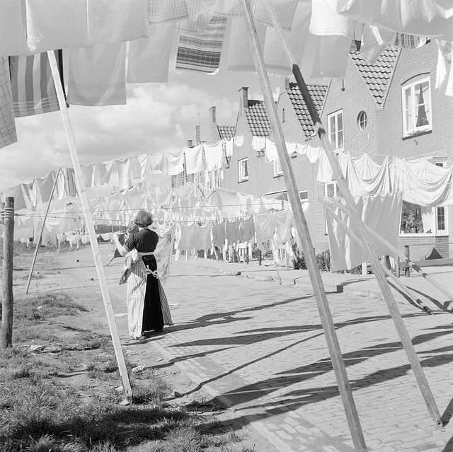 Waslijnen Volendam / Laundry lines Volendam