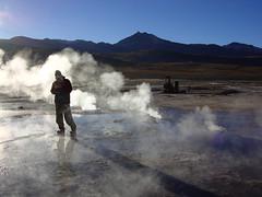 Tatio (ojofoto) Tags: silueta frio hielo vapor