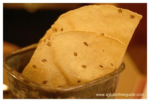 Gluten-Free Pappadums Prune Restaurant NYC