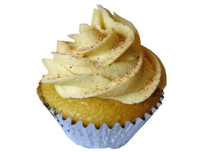 Eggnog Cupcake, photo c/o Wish-Cake