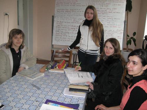 Natalia Rudoi predă EFNL la sesiune la Taraclia
