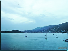 St.Thomas Evening (Carrie McGann) Tags: blue water clouds boats island interesting caribbean stthomas