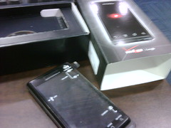 Usual unboxing pic. #droid