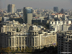 Bucharest, Romania 2010 (Raiden2) Tags: city building architecture downtown capital romania bucharest ville bucuresti rumania citta bukarest roumanie boekarest bucarest roemenie oras rominia rumanien bukresh raiden2 rumunski