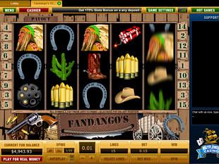 Fandango's slot game online review