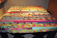 My Jelly Roll Race Quilt