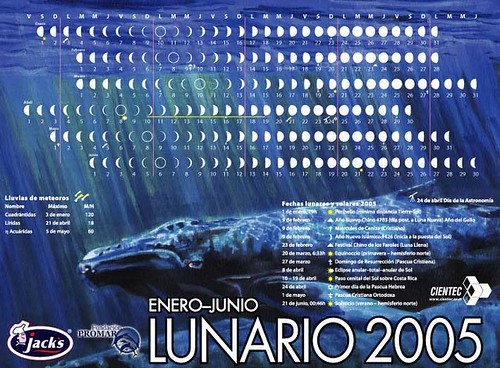 Lunario 2005 Jack`s