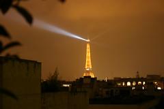 Paris at night (gzone77) Tags: city paris france tower beautiful electric night lights europe eiffeltower vivid beacon enchanting