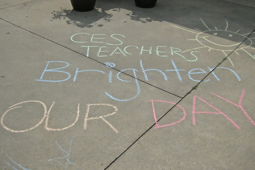 Chalk it up to Our Teachers...