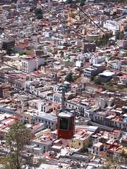 Zacatecas - Birds Eye View with Teleferico (carlylutzmann) Tags: panorama canon landscape mexico cablecar zacatecas birdseyeview teleferico carlylutzmann