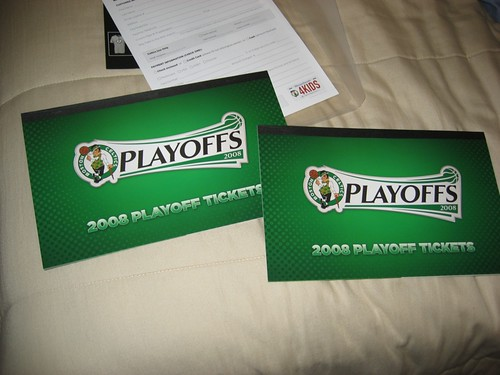 My Celtics Playoff Tickets
