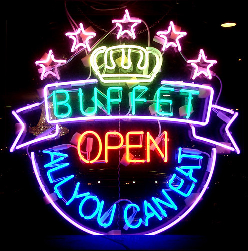 BUFFET OPEN