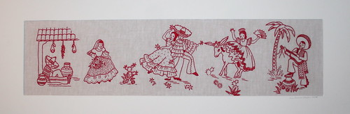 Mom's mexicana embroidery gift