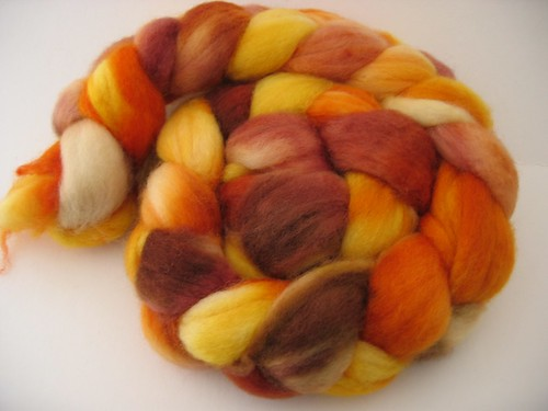 Numma Numma Superwash BFL Pumpkin Butter