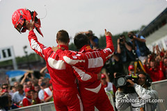 Formula 1 Grand Prix, Germany, Sunday Podium (MassaSchumacher) Tags: portrait germany one sunday july f1 grandprix hockenheim formula1 gp hockenheimring formel1 formel badenwrttemberg 30307072006