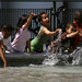 Kids Playing at Pompidou