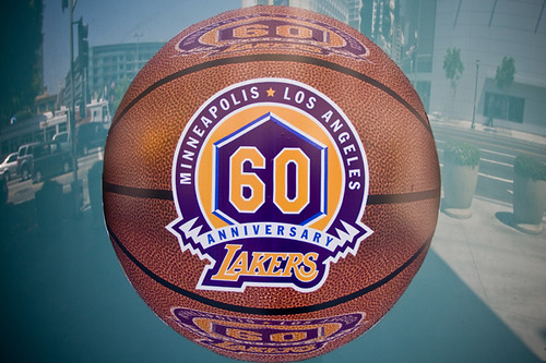 Lakers 60 Years Sticker