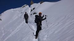 Lachenal Ridge (chaletlaforet) Tags: mountaineering chamonix aiguilledumidi cosmiquesarête